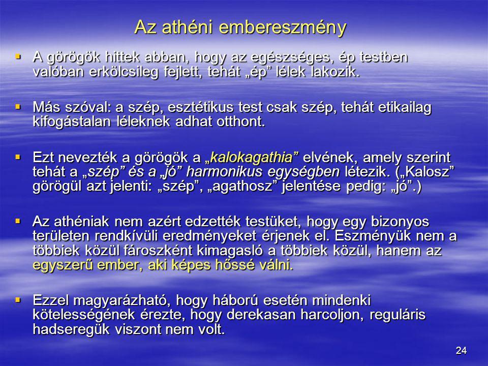 Az athéni embereszmény
