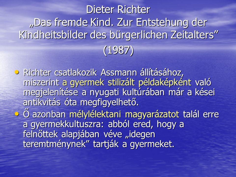 """Dieter Richter """"Das fremde Kind"""