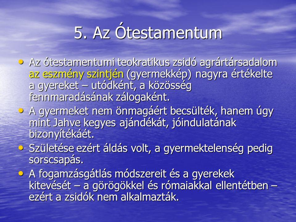 5. Az Ótestamentum