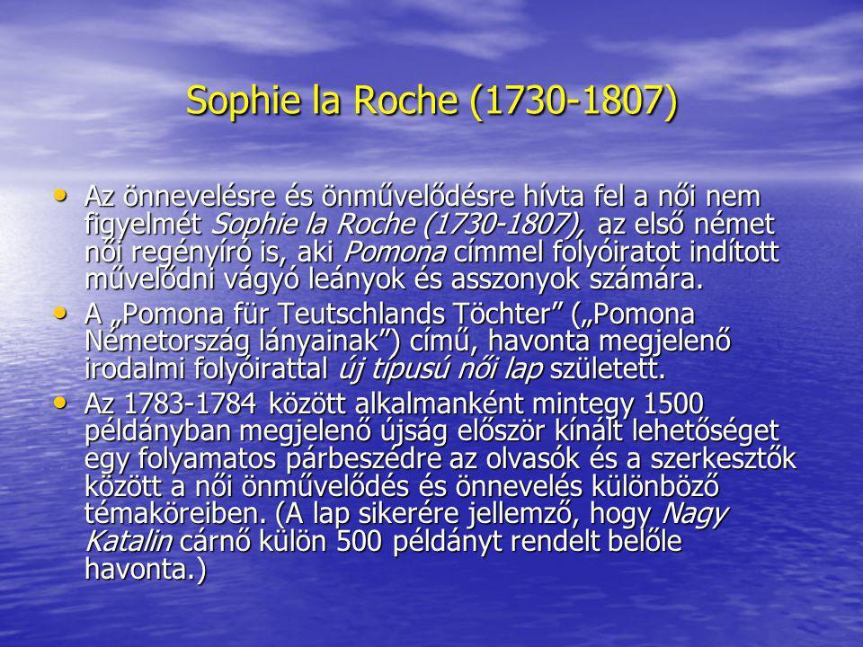 Sophie la Roche (1730-1807)
