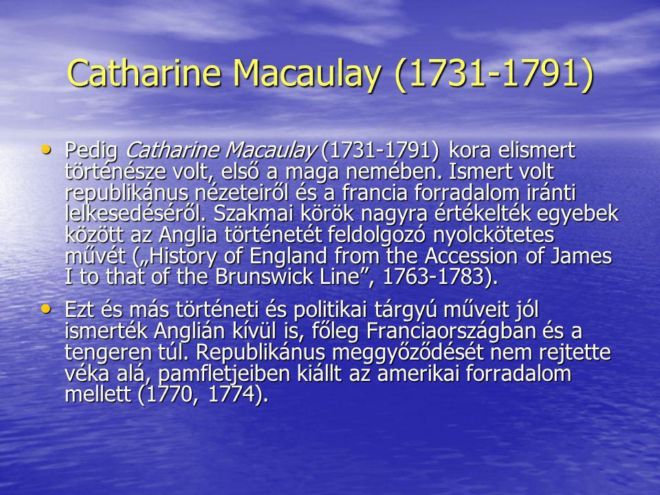 Catharine Macaulay (1731-1791)