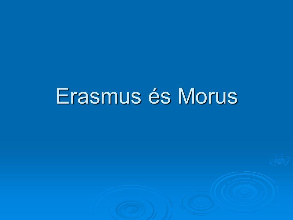 Erasmus és Morus