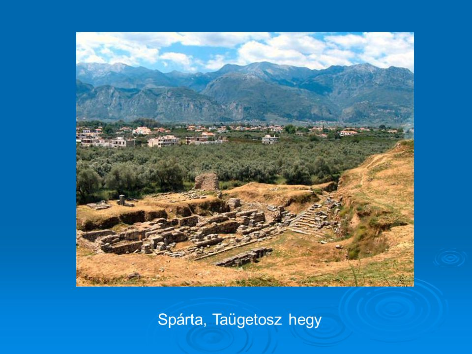 Spárta, Taügetosz hegy