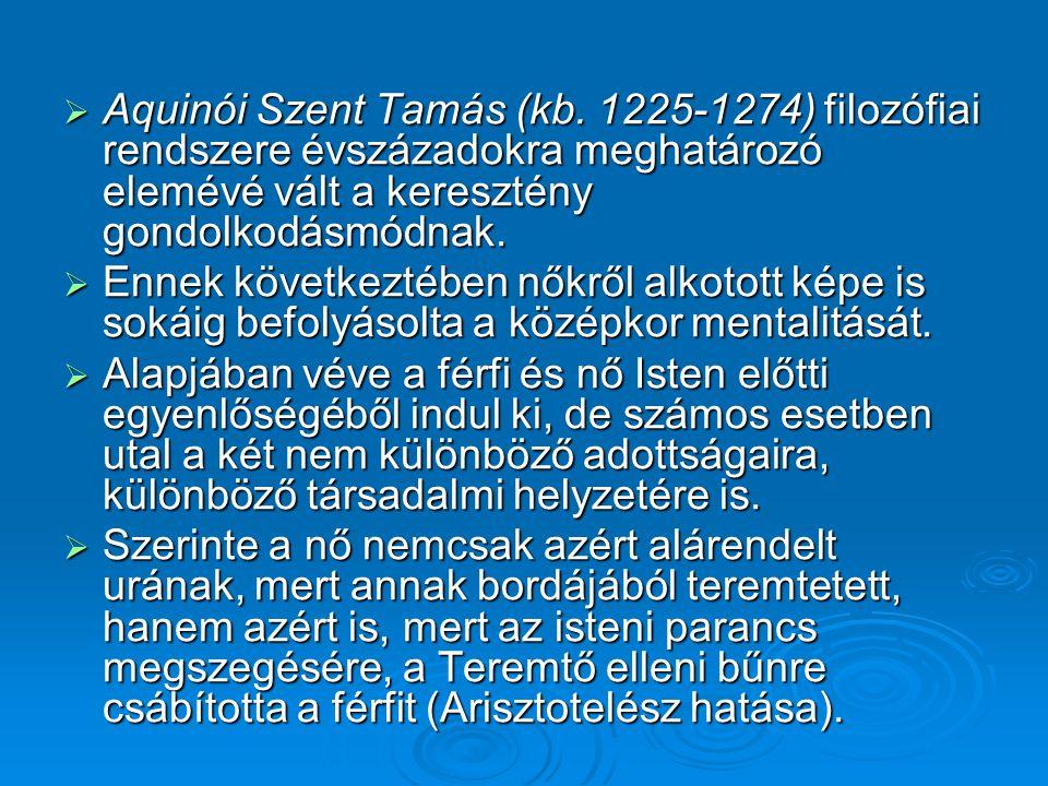 Aquinói Szent Tamás (kb