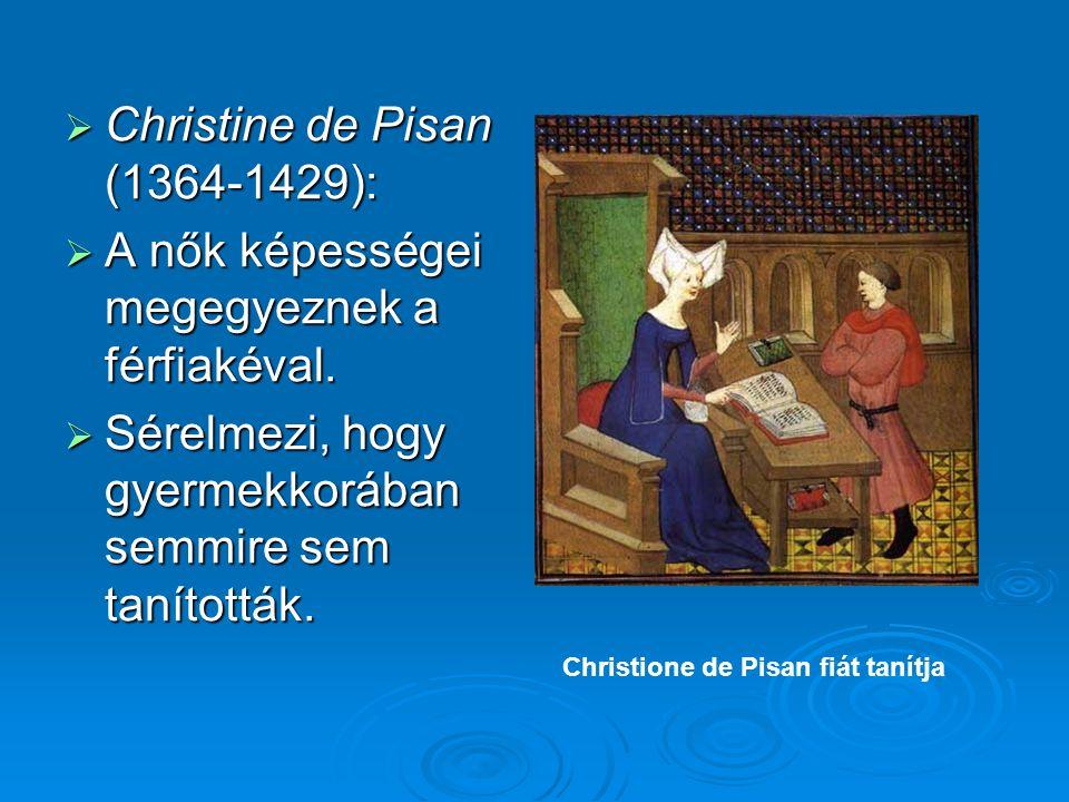 Christine de Pisan (1364-1429):