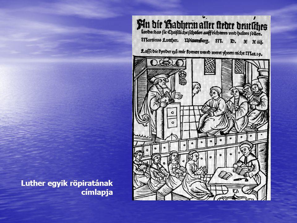 Luther egyik röpiratának címlapja