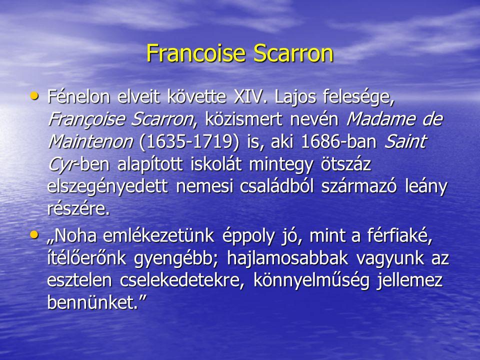 Francoise Scarron