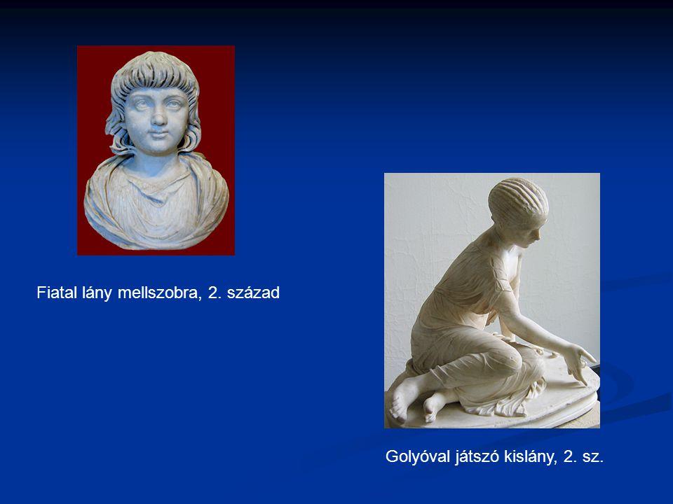 Fiatal lány mellszobra, 2. század