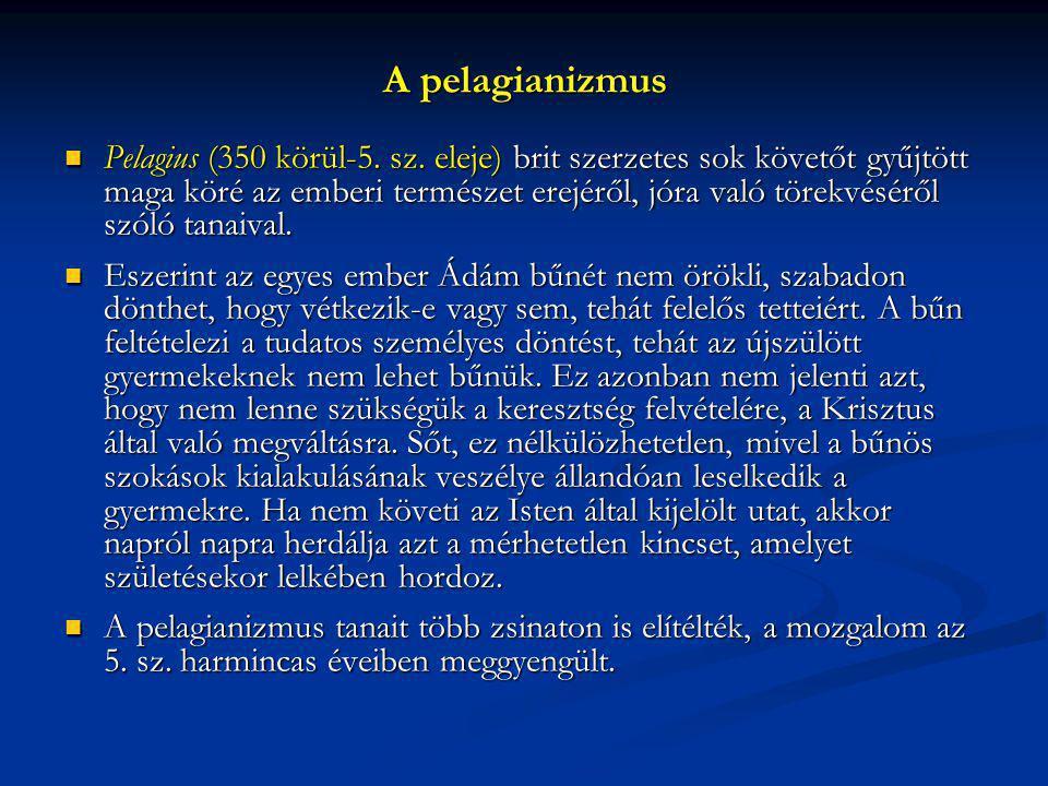 A pelagianizmus
