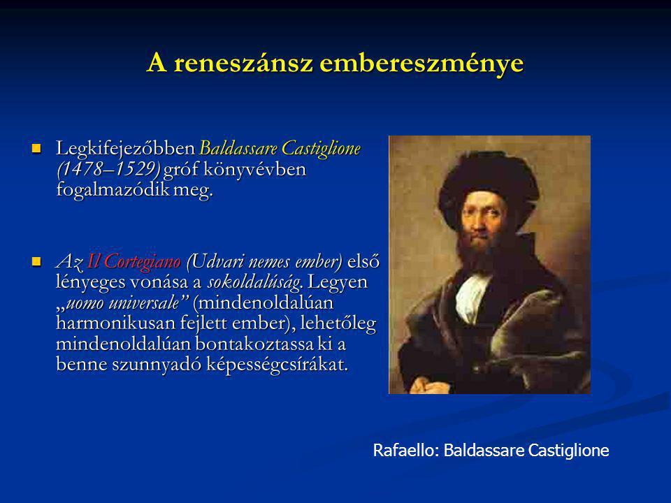 A reneszánsz embereszménye