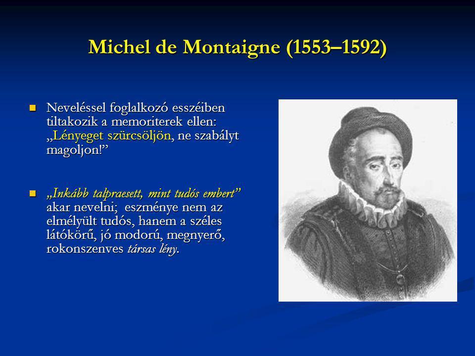 Michel de Montaigne (1553–1592)