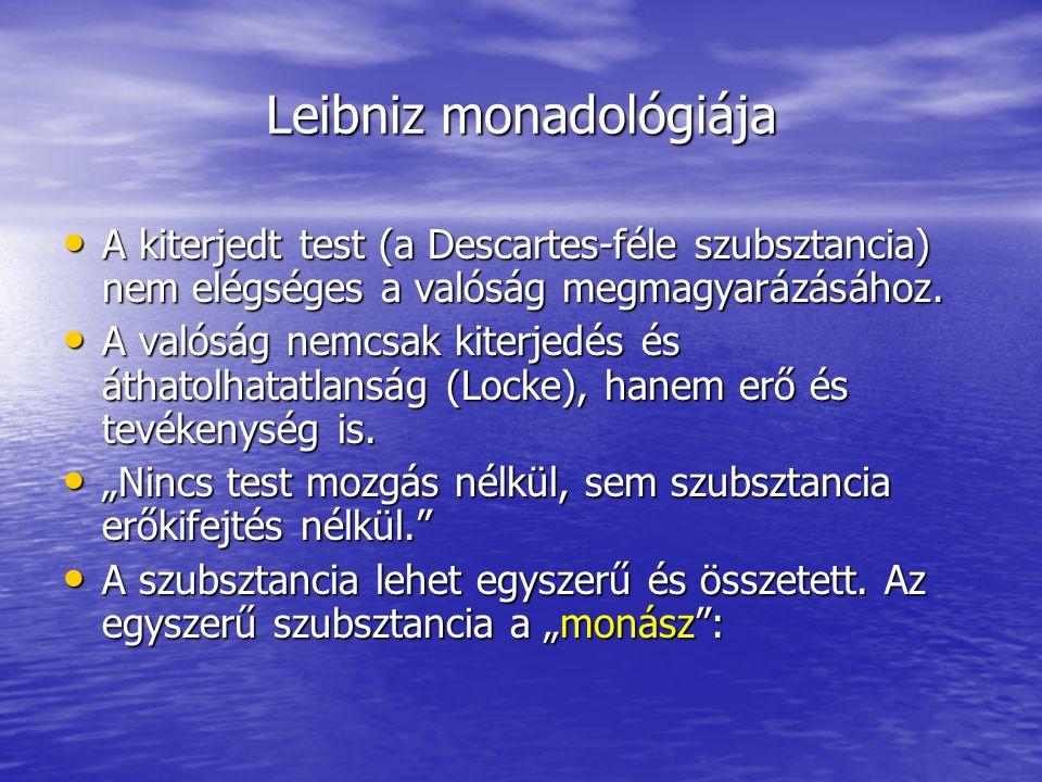 Leibniz monadológiája