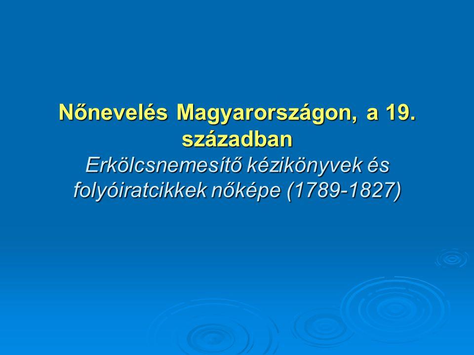 Nőnevelés Magyarországon, a 19