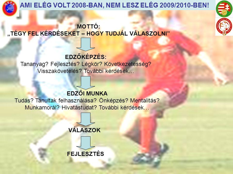 AMI ELÉG VOLT 2008-BAN, NEM LESZ ELÉG 2009/2010-BEN!