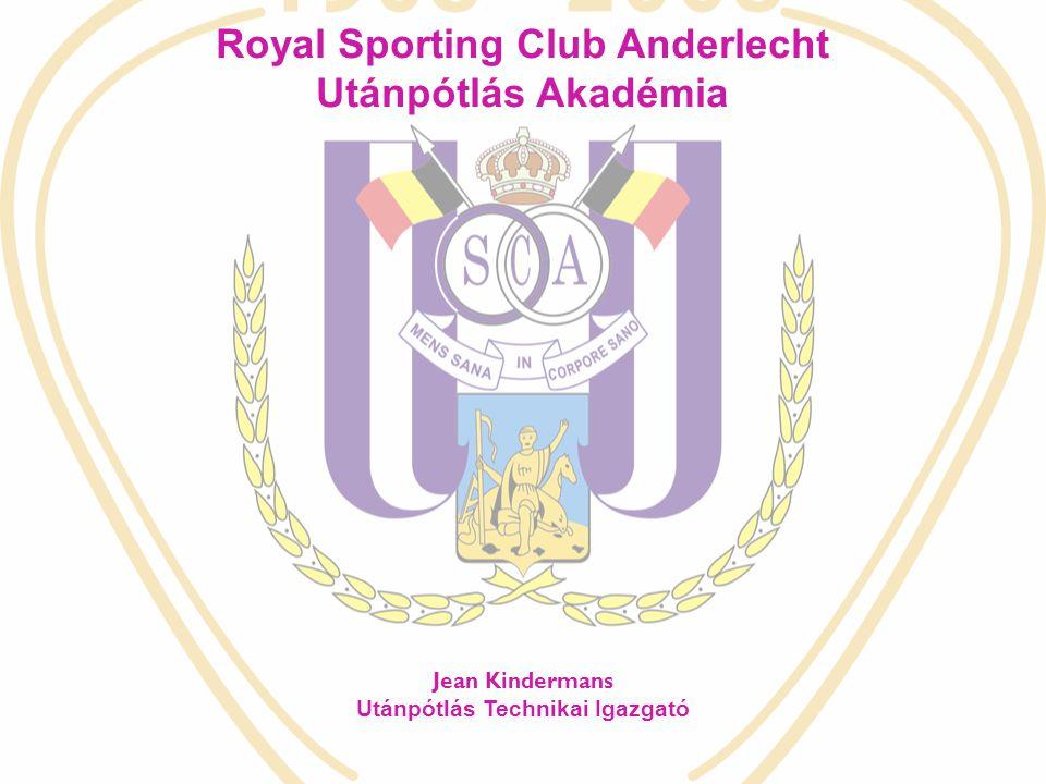 Royal Sporting Club Anderlecht Utánpótlás Technikai Igazgató