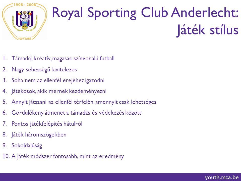 Royal Sporting Club Anderlecht: Játék stílus