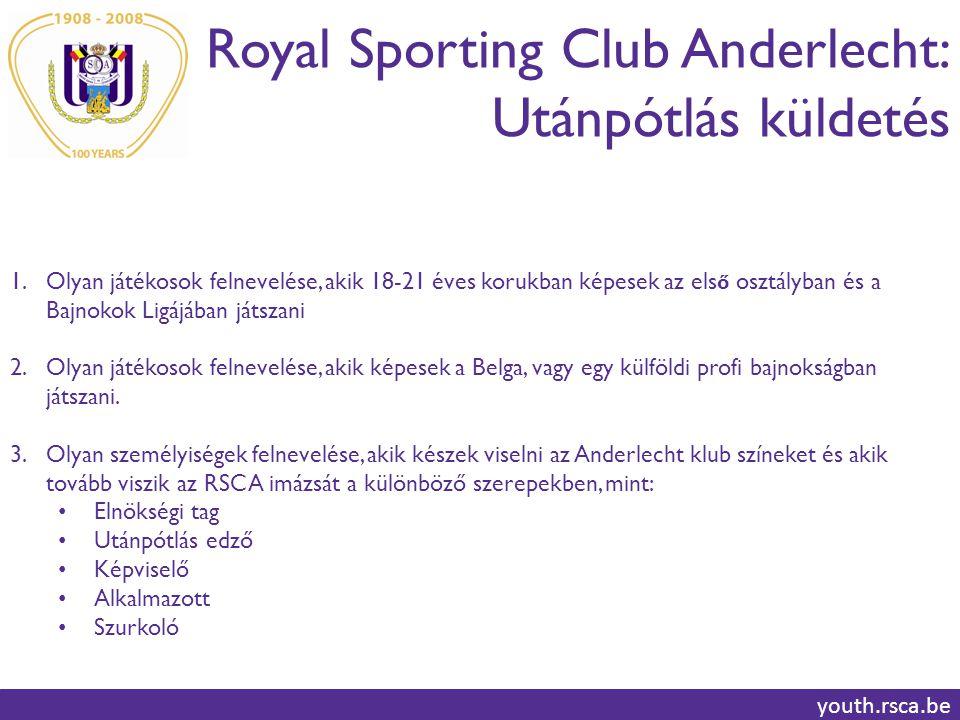 Royal Sporting Club Anderlecht: Utánpótlás küldetés