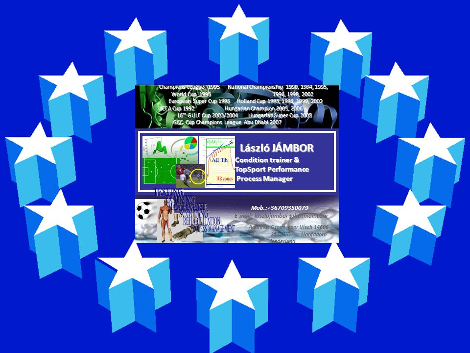 E-mail: laszlojambor@hotmail.com Address: Graan voor Visch 14606
