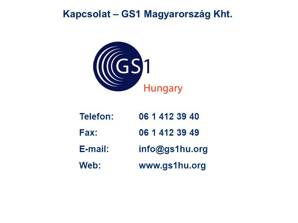 Kapcsolat – GS1 Magyarország Kht.