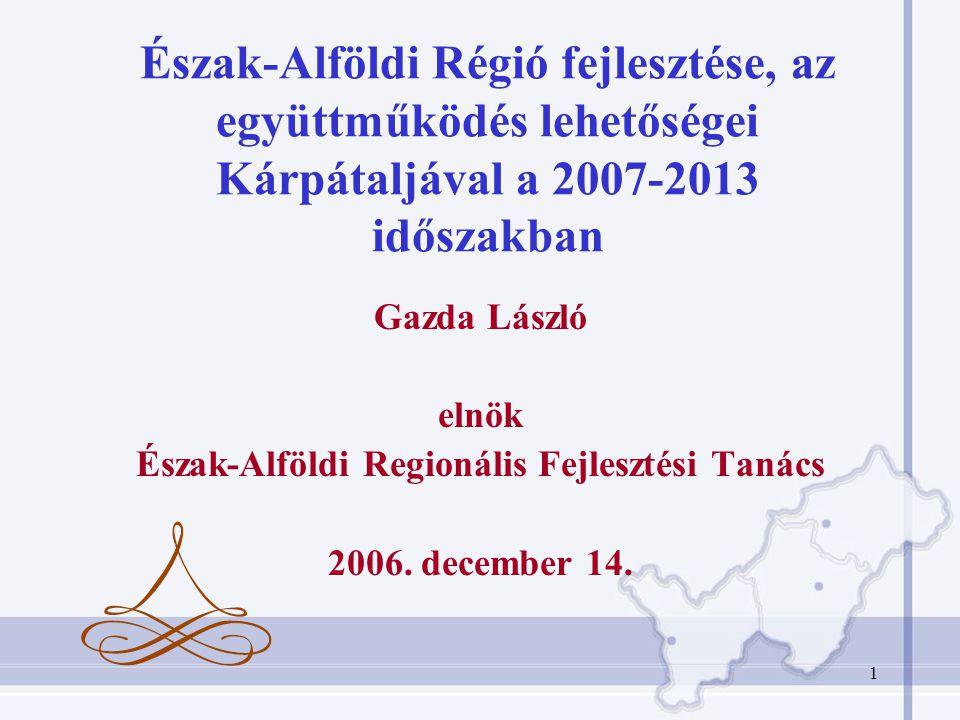 Észak-Alföldi Regionális Fejlesztési Tanács