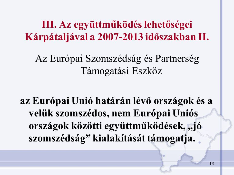 Az Európai Szomszédság és Partnerség Támogatási Eszköz