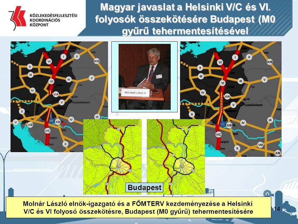 Magyar javaslat a Helsinki V/C és VI.