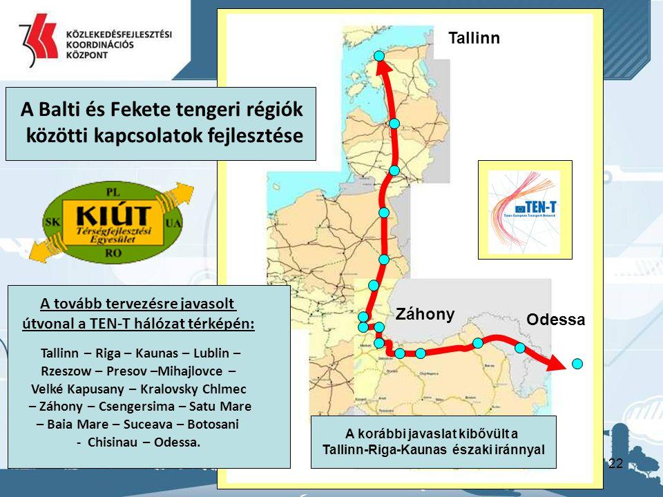 A Balti és Fekete tengeri régiók közötti kapcsolatok fejlesztése