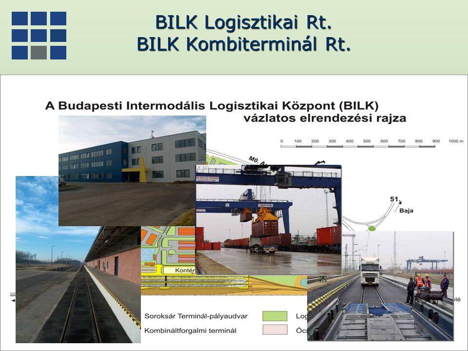 BILK Logisztikai Rt. BILK Kombiterminál Rt.