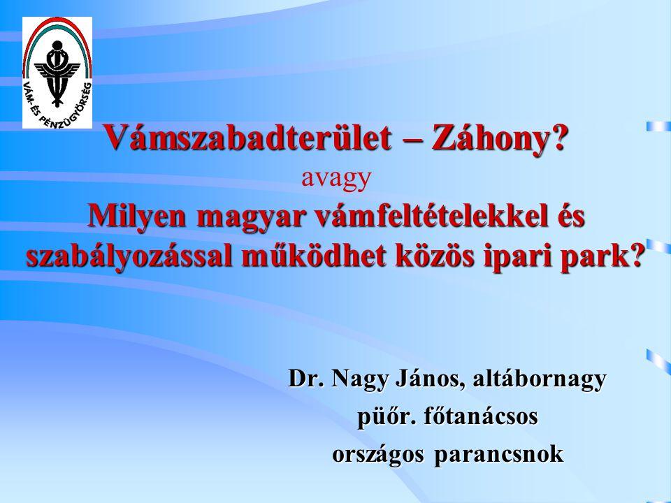 Dr. Nagy János, altábornagy püőr. főtanácsos országos parancsnok