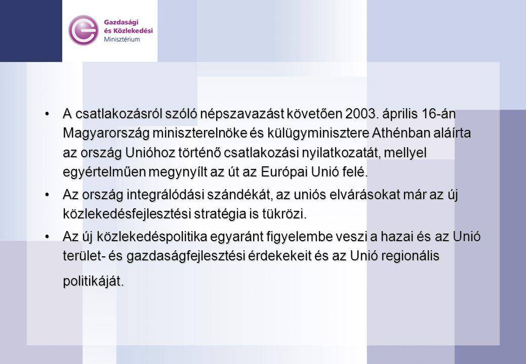 A csatlakozásról szóló népszavazást követően 2003