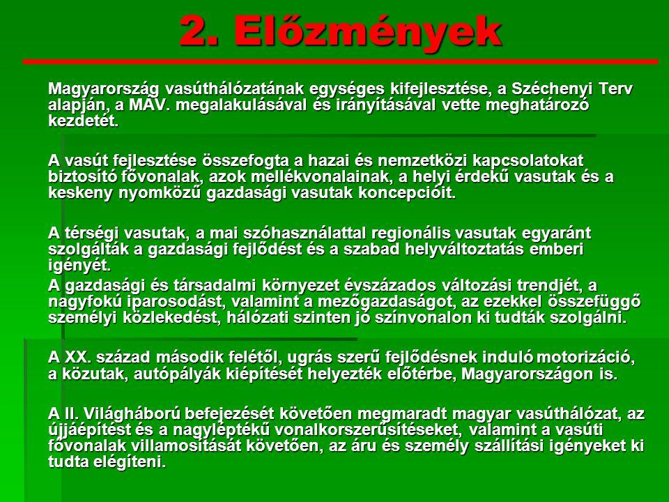 2. Előzmények