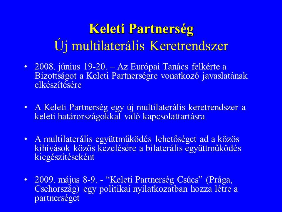 Keleti Partnerség Új multilaterális Keretrendszer