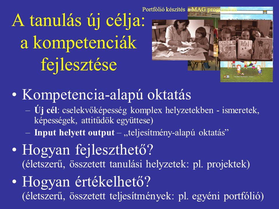 A tanulás új célja: a kompetenciák fejlesztése