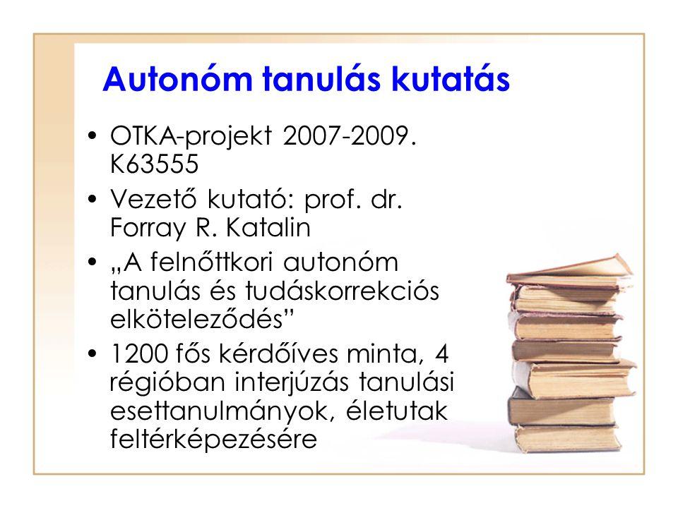 Autonóm tanulás kutatás