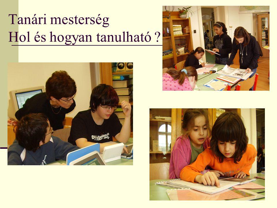 Tanári mesterség Hol és hogyan tanulható