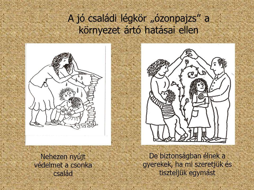 """A jó családi légkör """"ózonpajzs a környezet ártó hatásai ellen"""