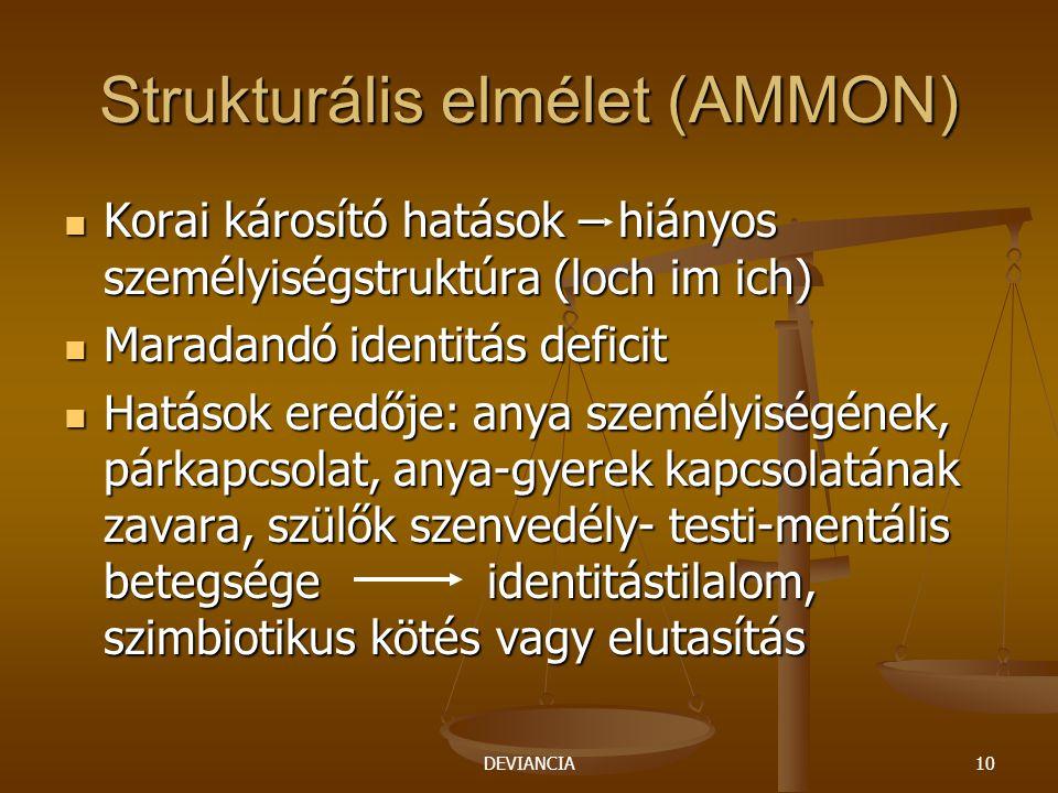 Strukturális elmélet (AMMON)