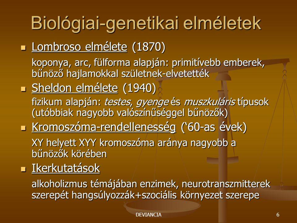 Biológiai-genetikai elméletek