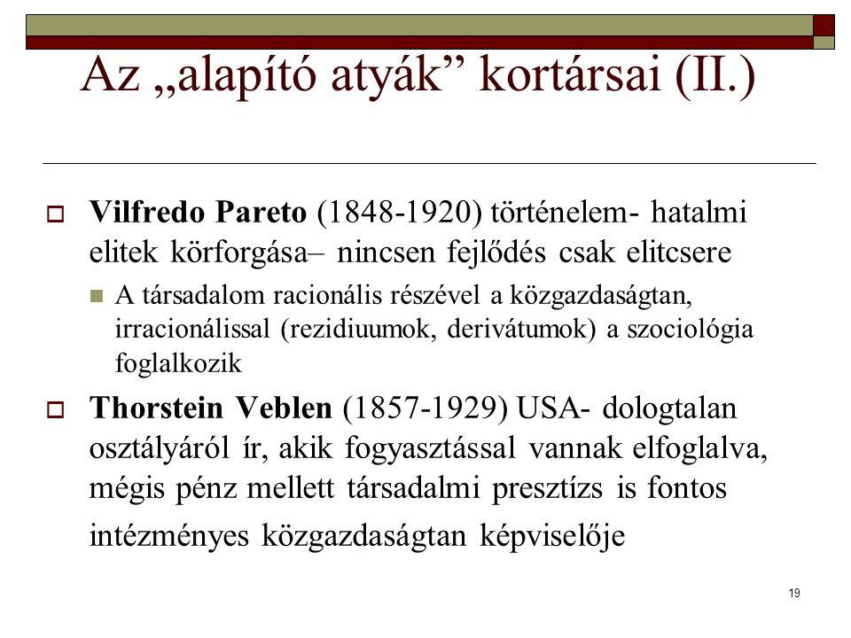 """Az """"alapító atyák kortársai (II.)"""