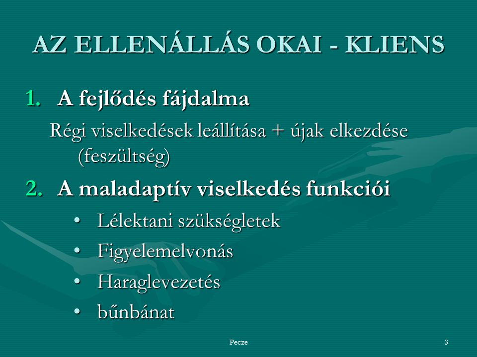AZ ELLENÁLLÁS OKAI - KLIENS