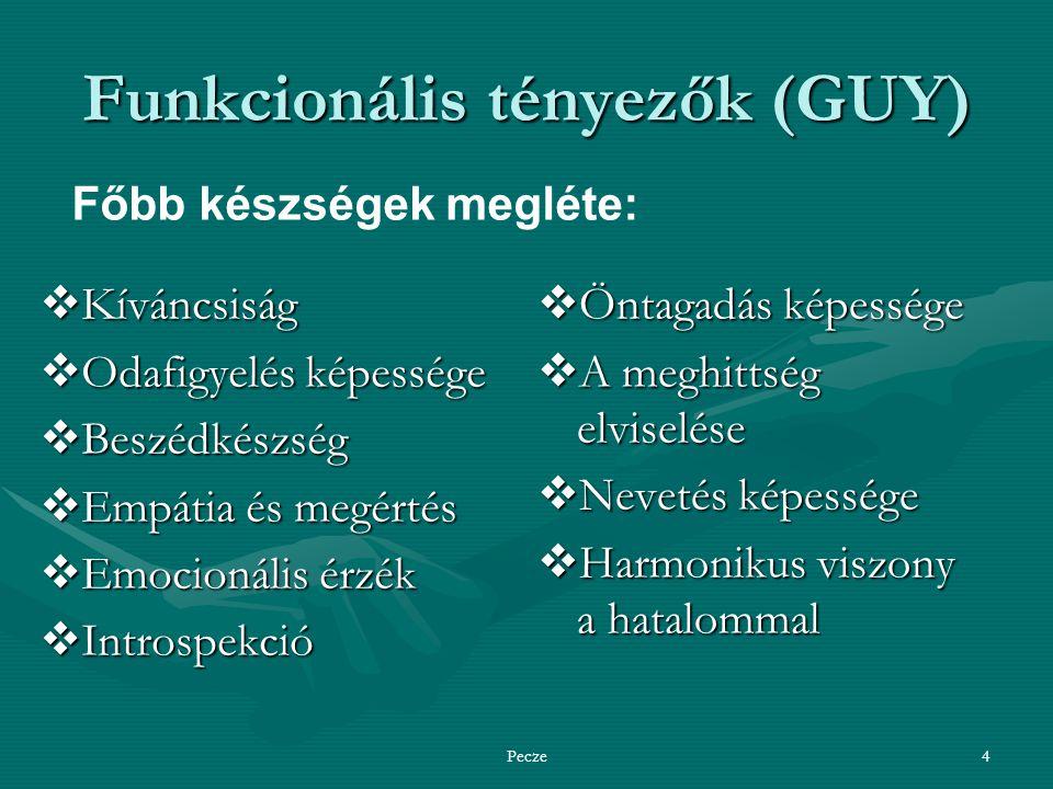 Funkcionális tényezők (GUY)
