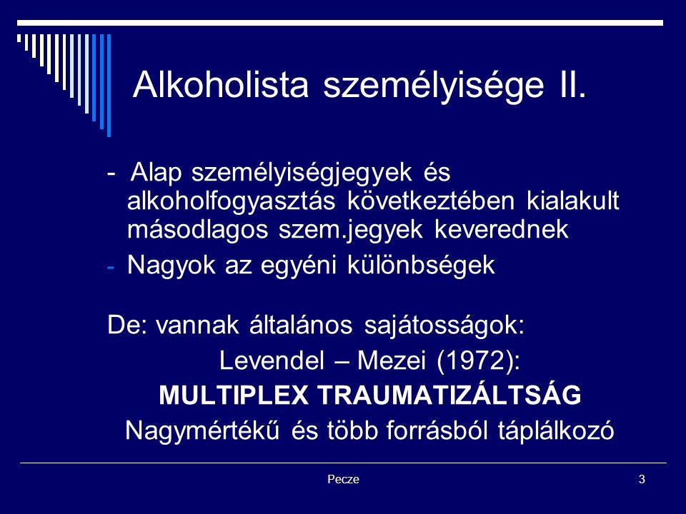 Alkoholista személyisége II.