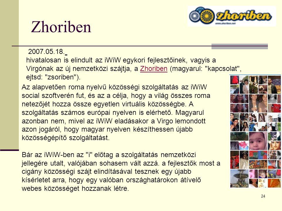 Zhoriben 2007.05.18.