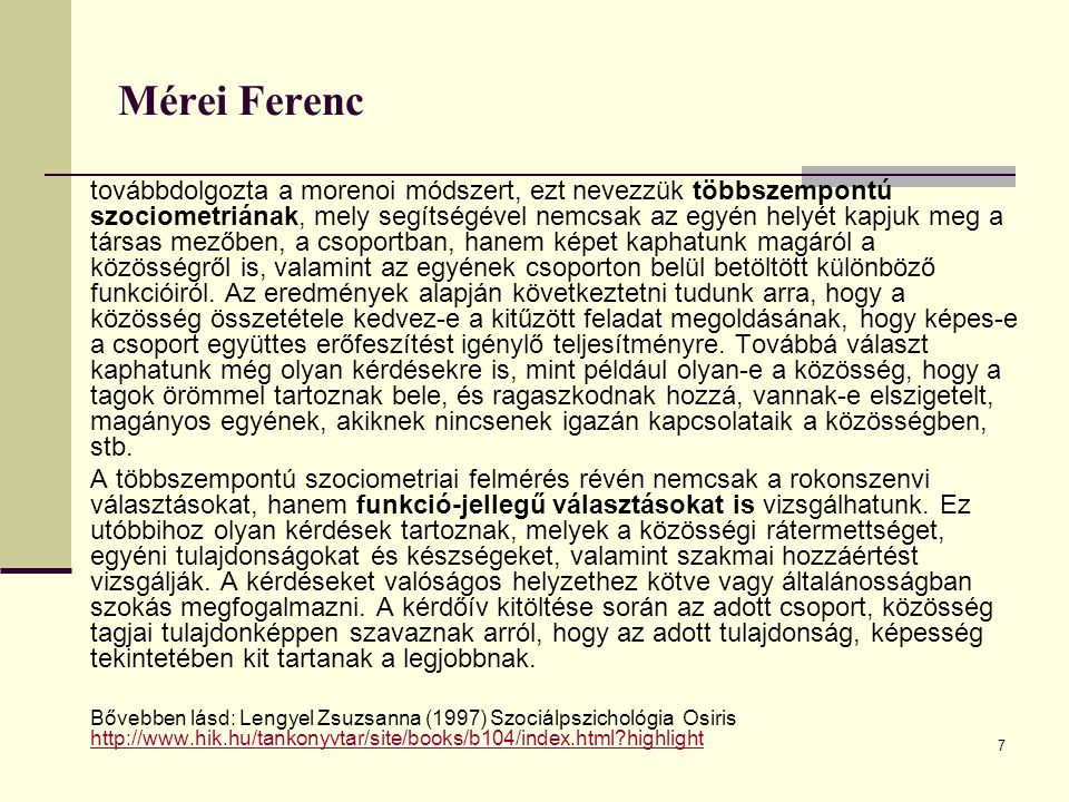 Mérei Ferenc