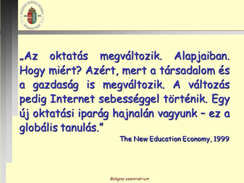 """""""Az oktatás megváltozik. Alapjaiban. Hogy miért"""