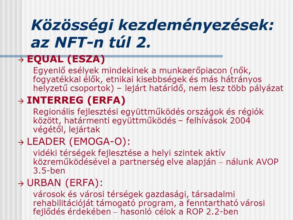 Közösségi kezdeményezések: az NFT-n túl 2.