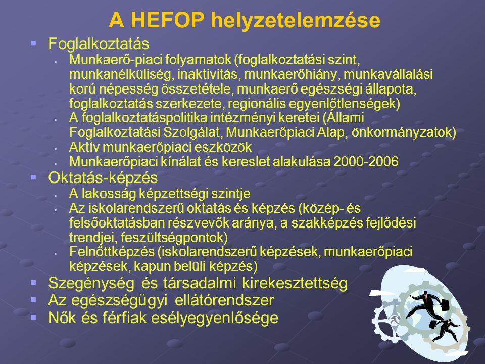 A HEFOP helyzetelemzése