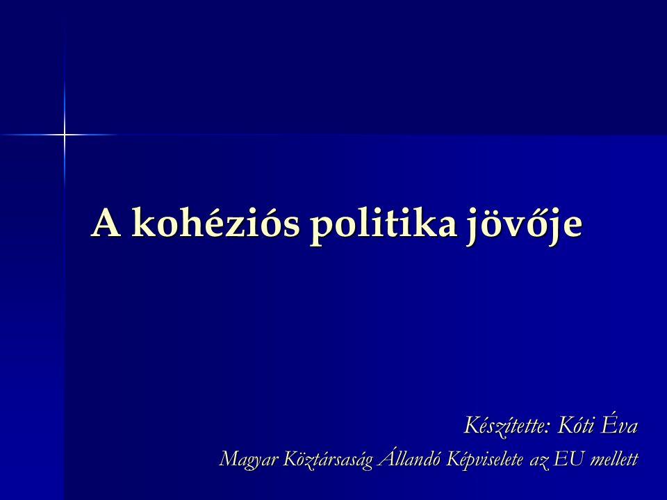A kohéziós politika jövője