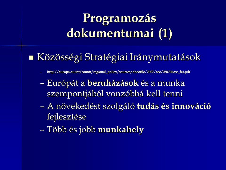 Programozás dokumentumai (1)
