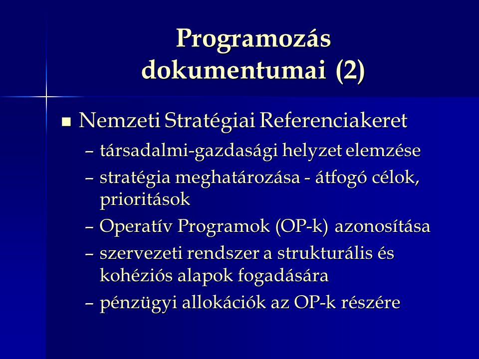 Programozás dokumentumai (2)